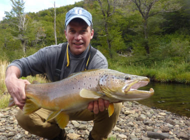 Fall Brown Trout Argentina